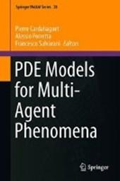PDE Models for Multi-Agent Phenomena