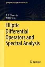 Elliptic Differential Operators and Spectral Analysis