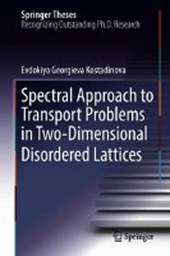 Spectral Approach to Transport Problems in Two-Dimensional Disordered Lattices
