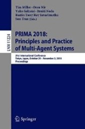 PRIMA 2018: Principles and Practice of Multi-Agent Systems