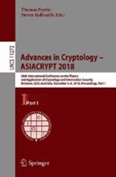 Advances in Cryptology - ASIACRYPT 2018