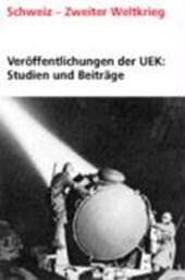 Veröffentlichungen der UEK. Studien und Beiträge zur Forschung / Aspects des relations financières franco-suisses (1936-1946)