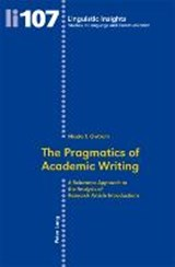 The Pragmatics of Academic Writing | Nicola T. Owtram |