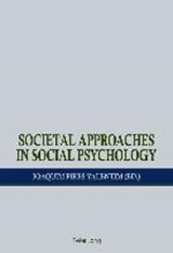 Societal Approaches in Social Psychology |  |