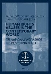 Human rights abuses in the contemporary world |  |