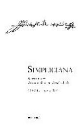 Simpliciana XXXVIII (2016)