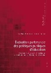 Évaluation partenariale des politiques publiques d'éducation
