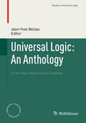 Universal Logic: An Anthology