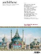 Archithese 2013/04 - Das 19. Jahrhundert - Vormoderne ist Nachmoderne