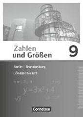 Zahlen und Größen 9. Schuljahr - Berlin und Brandenburg - Lösungen zum Schülerbuch