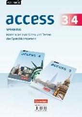 English G Access Band 3/4: 7./8. Schuljahr - Allgemeine Ausgabe - Speaking - Materialien zum Üben und Testen der Sprechkompetenz