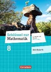 Schlüssel zur Mathematik 8. Schuljahr - Differenzierende Ausgabe Rheinland-Pfalz - Arbeitsheft