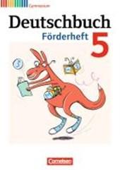 Deutschbuch 5. Schuljahr Gymnasium Förderheft