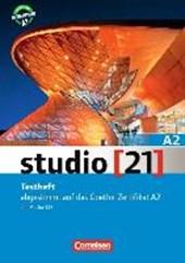 studio [21] Grundstufe A2: Gesamtband. Testheft mit Audio-CD