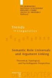 Semantic Role Universals and Argument Linking