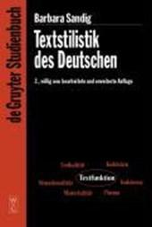 Textstilistik des Deutschen