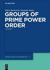 Groups of Prime Power Order