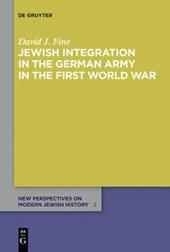 Jewish Integration in the German Army in the First World War