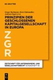 Prinzipien der geschlossenen Kapitalgesellschaft in Europa