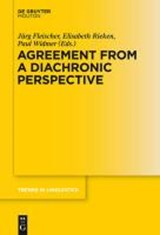 Agreement from a Diachronic Perspective | auteur onbekend |