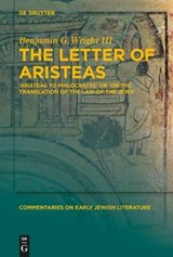The Letter of Aristeas | Benjamin G. Wright |