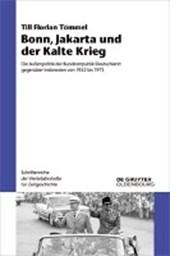 Bonn, Jakarta und der Kalte Krieg