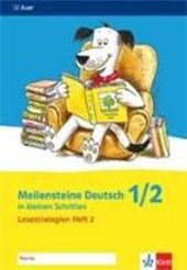 Meilensteine Deutsch in kleinen Schritten. Heft 2. Lesestrategien 1./2. Schuljahr