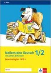 Meilensteine Deutsch in kleinen Schritten. Heft 4. Lesestrategien 1./2. Schuljahr