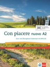 Con piacere nuovo A2. Kurs- und Übungsbuch + MP3-CD |  |