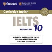 IELTS 10. 2 Audio CDs