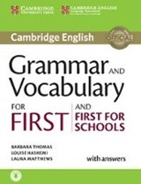 Grammar and Vocabulary for First and First for Schools | auteur onbekend |