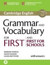 Grammar and Vocabulary for First and First for Schools |  |