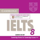 Cambridge IELTS 8 / Audio CD's