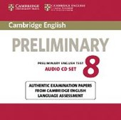 Cambridge English Preliminary 8. 2 Audio CDs