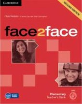 face2face. Teacher's Book with DVD-ROM. Elementary 2nd edition