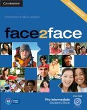 face2face Pre-intermediate Stud. Book w. DVD-ROM