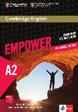 Cambridge English Empower. Student's Book (print) + assessment package, personalised practice, online workbook & online teacher support (A2) |  |