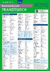PONS Basiswortschatz auf einen Blick Französisch