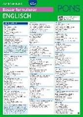 PONS Besser formulieren auf einen Blick Englisch