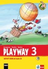 Playway ab Klasse 3. 3.Schuljahr. Activity Book mit Audio-CD | auteur onbekend |