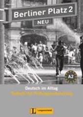 Berliner Platz 2 NEU - Testheft mit Prüfungsvorbereitung 2 mit Audio-CD