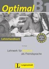 Optimal B1 - Lehrerhandbuch B1 mit Lehrer-CD-ROM