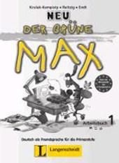 Der grüne Max 1 Neu - Arbeitsbuch 1 mit Audio-CD