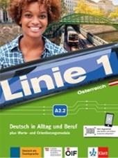 Linie 1 Österreich A2.2. Kurs- und Übungsbuch mit DVD-ROM