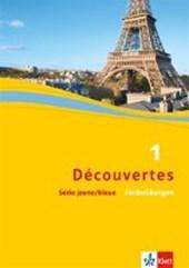 Découvertes Série jaune und bleue 1. Förderübungen