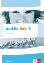 mathe live. Lösungen 5. Schuljahr. Ausgabe W