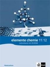 Elemente Chemie - Ausgabe Niedersachsen G8. Lehrerband 11/12. Klasse