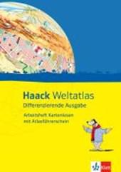Haack Weltatlas Differenzierende Ausgabe. Arbeitsheft Kartenlesen mit Atlasführerschein Klasse
