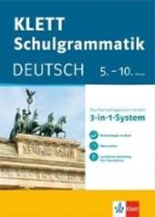 Klett-Schulgrammatik. Deutsch 5.-10. Klasse mit Online-Übungen und mobile Lernkarten