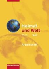 Heimat und Welt 5/6. Arbeitsheft. Erdkunde für Berlin und Brandenburg